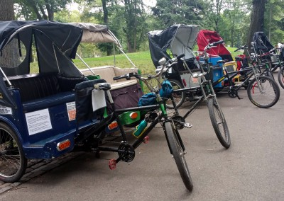 Pedicabs (comic chase scene)