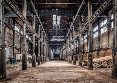 Massiv Abandoned warehouse