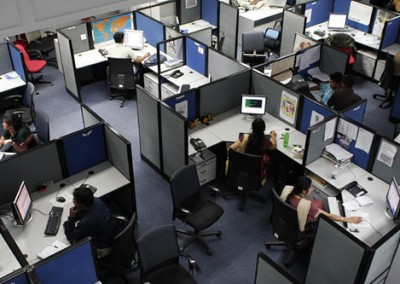 A Sea of Cubicles